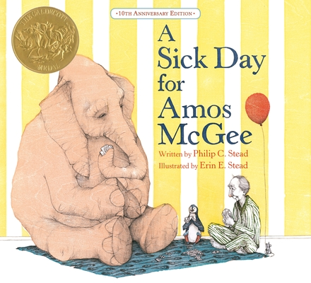 A Sick Day for Amos McGee: 10th Anniversary Edition Cover Image