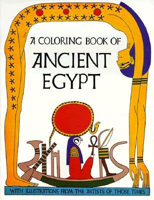 Ancient Egypt Color Bk Cover Image