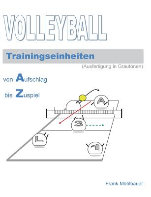 Volleyball Trainingseinheiten: Illustrationen in Grautönen Cover Image