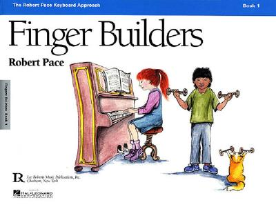 Finger Builders, Book 1 Cover Image