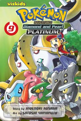 Pokemon Adventures Diamond and Pearl Platinum, Volume 9 Cover
