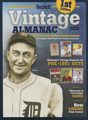 Beckett Vintage Almanac 2015 Cover Image