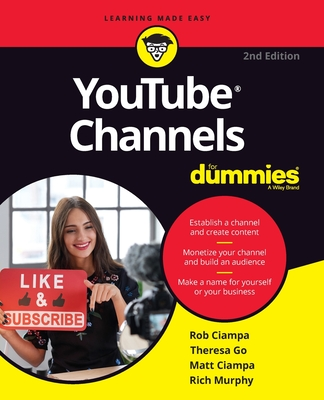 Youtube Channels for Dummies Cover Image