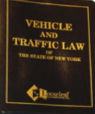 Vehicle & Traffic Law Cover Image