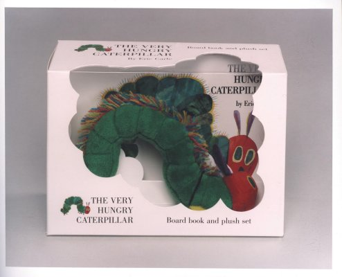 The Very Hungry Caterpillar Board Book and Plush Cover Image