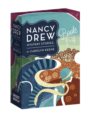 Nancy Drew Mystery Stories Books 1-4 Cover Image