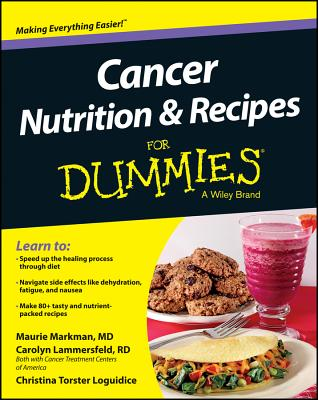 Cancer Nutrition and Recipes for Dummies Cover Image