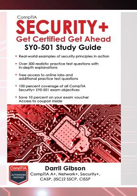 CompTIA Security+ Get Certified Get Ahead: SY0-501 Study Guide Cover Image