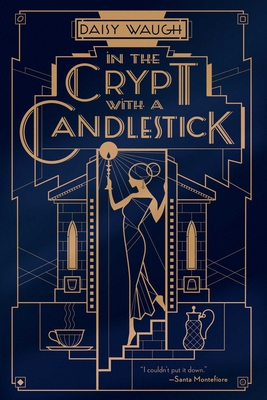 In the Crypt with a Candlestick: A Mystery Cover Image