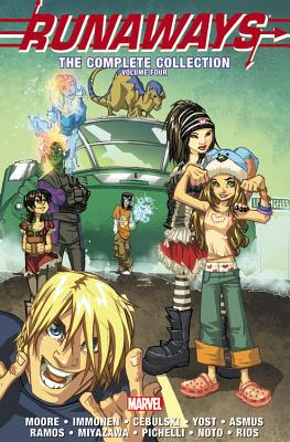 Runaways: The Complete Collection Volume 4 cover image