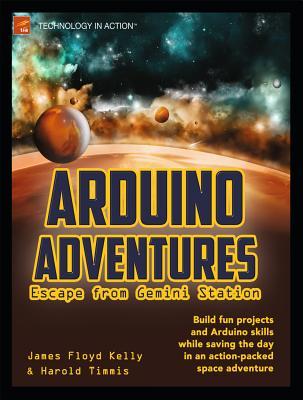 Cover for Arduino Adventures