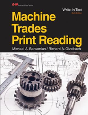 Machine Trades Print Reading Cover Image