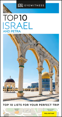 DK Eyewitness Top 10 Israel and Petra (Pocket Travel Guide) Cover Image
