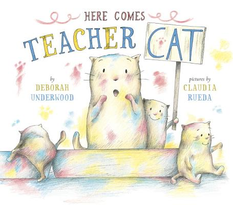 Here Comes Teacher Cat Cover Image