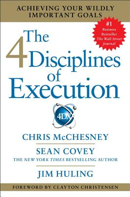 The 4 Disciplines of Execution Cover