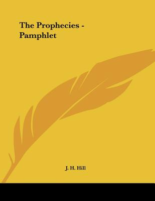 The Prophecies - Pamphlet Cover Image