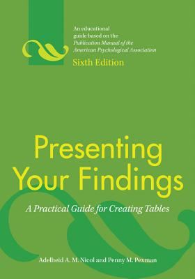 Presenting Your Findings: A Practical Guide for Creating Tables Cover Image