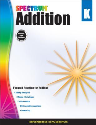 Addition, Grade K (Spectrum) Cover Image
