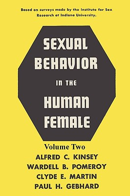 Sexual Behavior in the Human Female, Volume 2 Cover Image