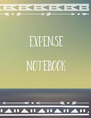 Expense Notebook: Personal Budget Log Book Cover Image