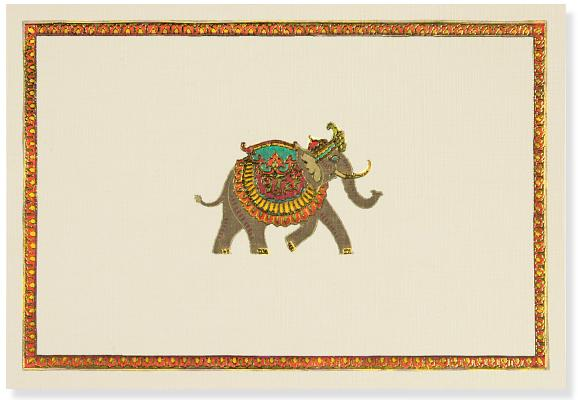 Note Card Elephant Festival Cover Image