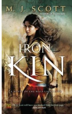Cover for Iron Kin