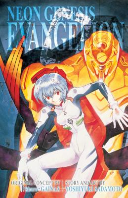 Neon Genesis Evangelion 3-in-1 Edition, Vol. 2: Includes vols. 4, 5 & 6 Cover Image