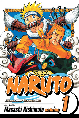 Naruto, Volume 1: The Tests of the Ninja Cover Image