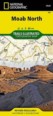 Moab North (National Geographic Maps: Trails Illustrated #500) Cover Image
