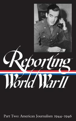 Reporting World War II Cover