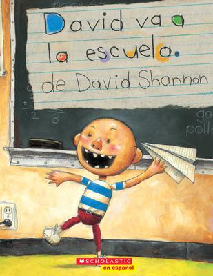 David va a la escuela (David Goes to School) (David Books) Cover Image