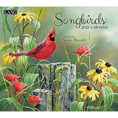 Songbirds(tm) 2021 Wall Calendar Cover Image