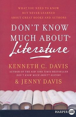 Don't Know Much about Literature Cover