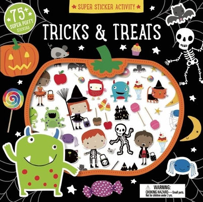 Super Sticker Activity: Tricks and Treats Cover Image