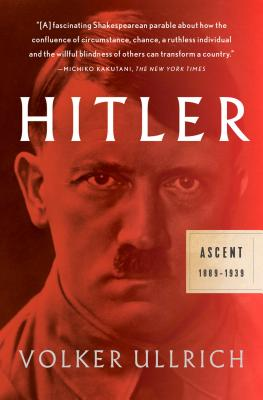 Hitler: Ascent: 1889-1939 Cover Image