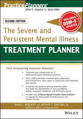 The Severe and Persistent Mental Illness Treatment Planner (PracticePlanners) Cover Image