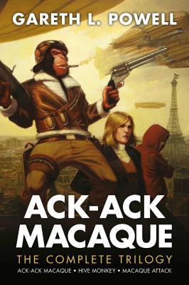 Ack-Ack Macaque: The Complete Trilogy Cover Image
