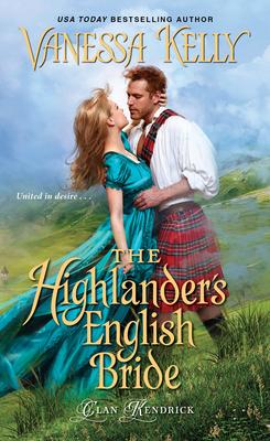 The Highlander's English Bride (Clan Kendrick #3) Cover Image