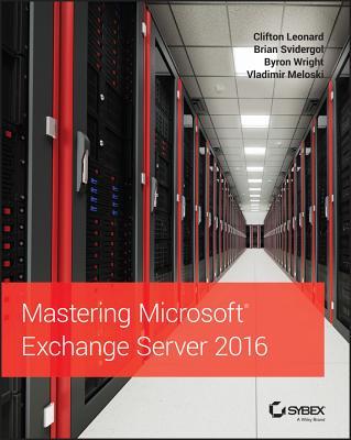 Mastering Microsoft Exchange Server 2016 Cover Image