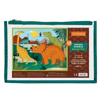 Dinosaur Park Pouch Puzzle Cover Image
