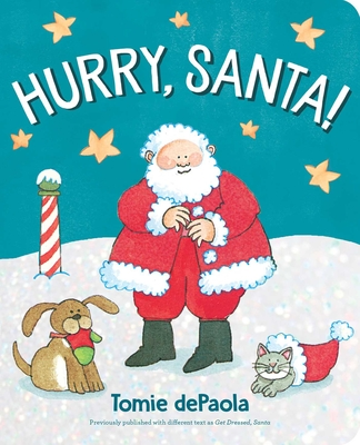 Hurry, Santa! Cover Image