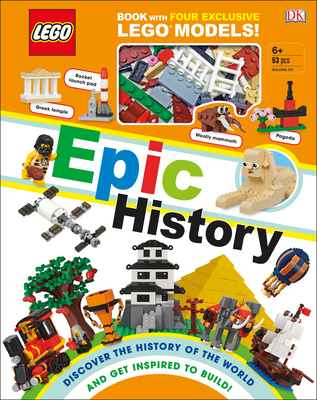LEGO Epic History: Includes Four Exclusive LEGO Mini Models Cover Image