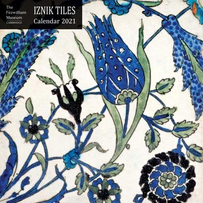 Fizwilliam Museum - Iznik Tiles Wall Calendar 2021 (Art Calendar) Cover Image