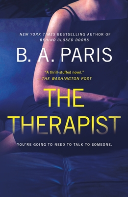 The Therapist: A Novel Cover Image
