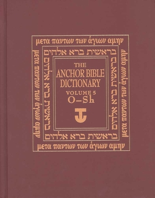 The Anchor Bible Dictionary, Volume 5 Cover