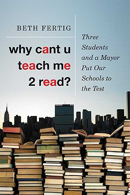 Why cant U teach me 2 read? Cover