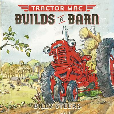 Cover for Tractor Mac Builds a Barn