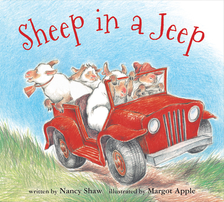 Sheep in a Jeep (board book) Cover Image