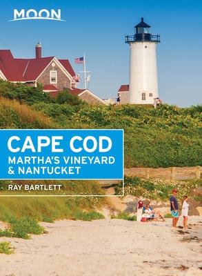 Cover for Moon Cape Cod, Martha's Vineyard & Nantucket (Travel Guide)