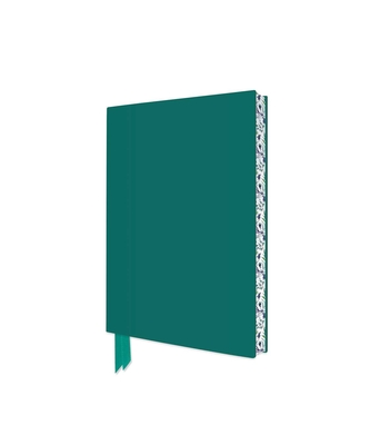 Teal Artisan Pocket Journal (Flame Tree Journals) (Artisan Pocket Journals) Cover Image